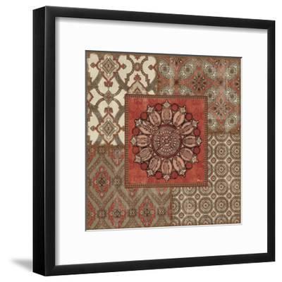 Venetian Patchwork IV-Pela Design-Framed Art Print