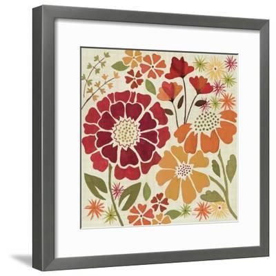Spice Garden I-Veronique Charron-Framed Art Print