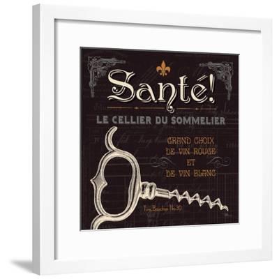 Flavors of France V-Jess Aiken-Framed Art Print