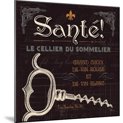 Flavors of France V-Jess Aiken-Mounted Art Print