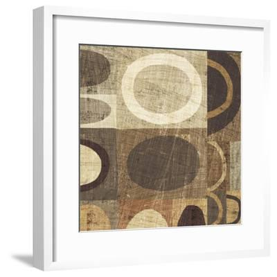 Modern Geometric Neutral II-Michael Mullan-Framed Art Print