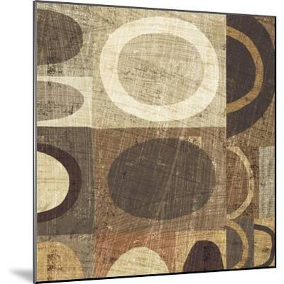 Modern Geometric Neutral II-Michael Mullan-Mounted Art Print