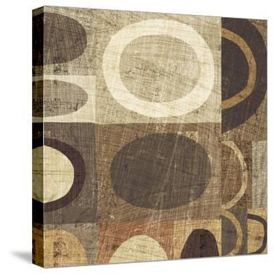 Modern Geometric Neutral II-Michael Mullan-Stretched Canvas Print