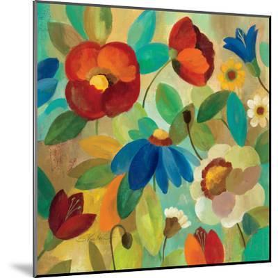 Summer Floral I-Silvia Vassileva-Mounted Art Print