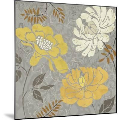 Morning Tones Gold-Daphne Brissonnet-Mounted Art Print
