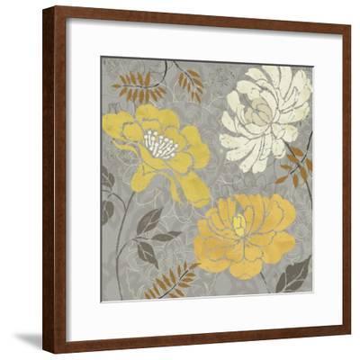 Morning Tones Gold-Daphne Brissonnet-Framed Art Print