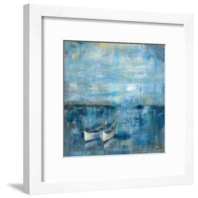 Two Boats-Silvia Vassileva-Framed Art Print