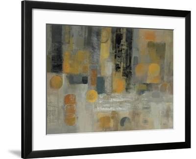 Raindrops on the Street-Silvia Vassileva-Framed Premium Giclee Print