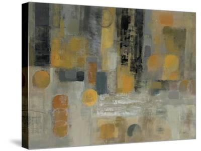 Raindrops on the Street-Silvia Vassileva-Stretched Canvas Print
