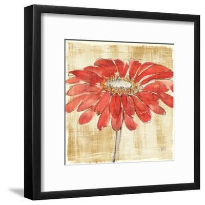 Tangerine and Grey I-Chris Paschke-Framed Art Print