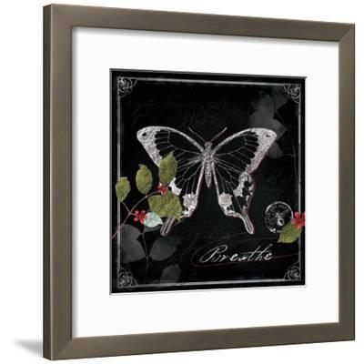 Chalkboard Wings I-Katie Pertiet-Framed Art Print