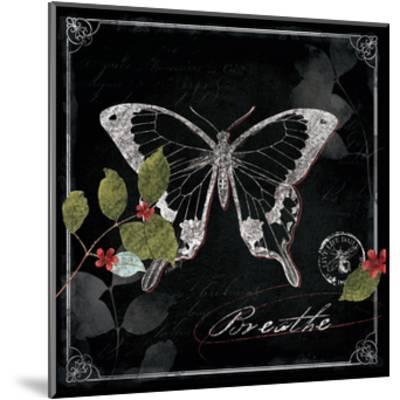 Chalkboard Wings I-Katie Pertiet-Mounted Art Print
