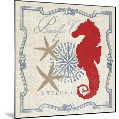 Pacific Seahorse-Sarah Mousseau-Mounted Art Print