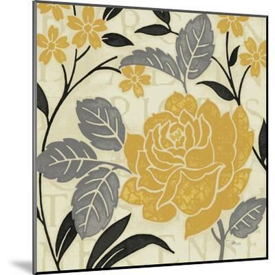 Perfect Petals II Yellow-Pela Design-Mounted Art Print