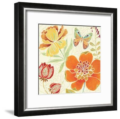 Spice Bouquet II-Daphne Brissonnet-Framed Art Print