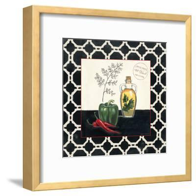 Parsley and Peppers-Marco Fabiano-Framed Art Print