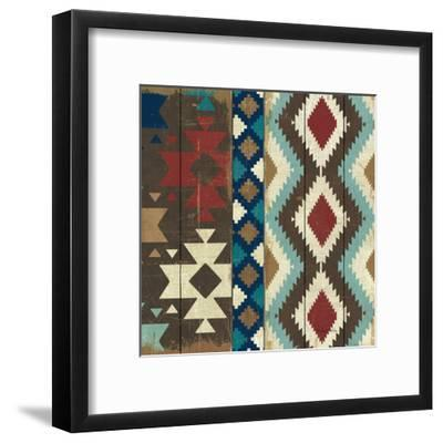 Native Tapestry Crop--Framed Art Print