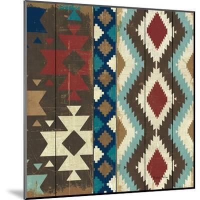 Native Tapestry Crop--Mounted Art Print