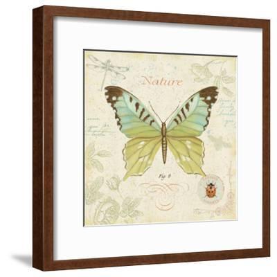 Cote Jardin III-Daphne Brissonnet-Framed Art Print