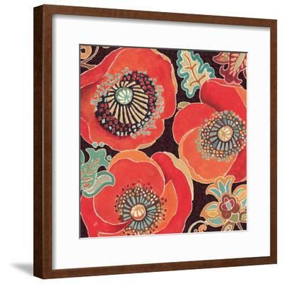 Moroccan Red V-Daphne Brissonnet-Framed Art Print