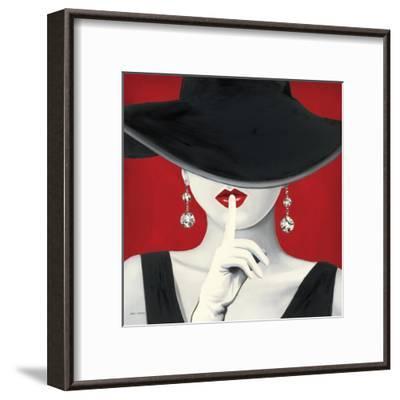 Haute Chapeau Rouge I-Marco Fabiano-Framed Art Print