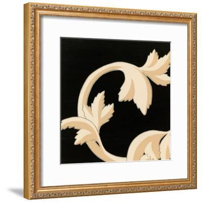 Damask V-Hugo Wild-Framed Art Print