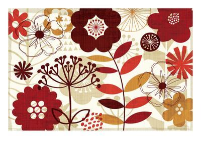 Floral Pop I-Mo Mullan-Framed Art Print