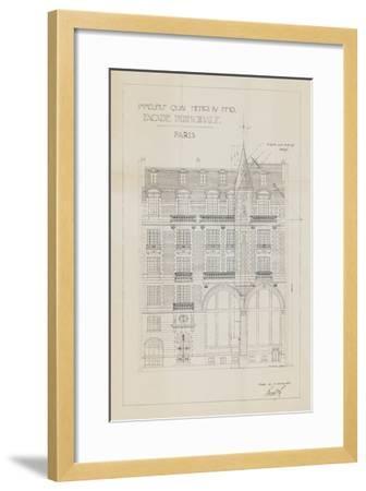 Quai Henri I-Hugo Wild-Framed Art Print