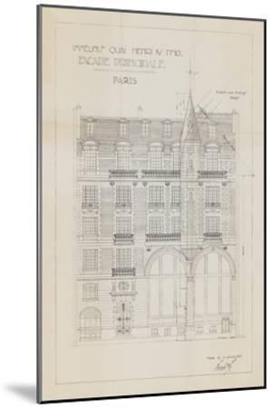 Quai Henri I-Hugo Wild-Mounted Art Print