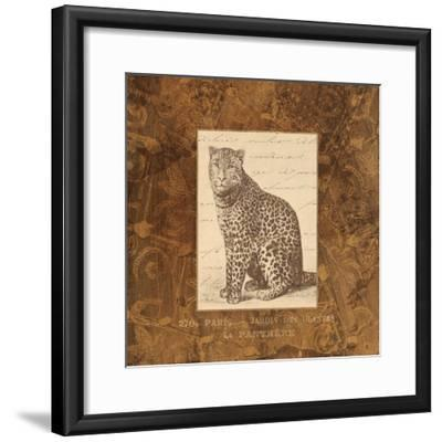Panther-Hugo Wild-Framed Art Print