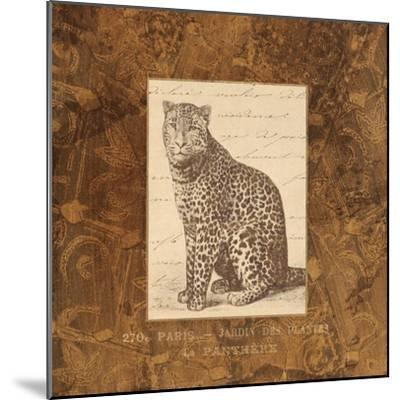Panther-Hugo Wild-Mounted Art Print