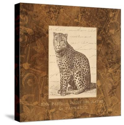 Panther-Hugo Wild-Stretched Canvas Print