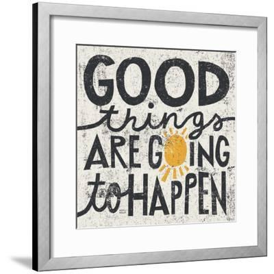 Good Things are Going to Happen-Michael Mullan-Framed Premium Giclee Print