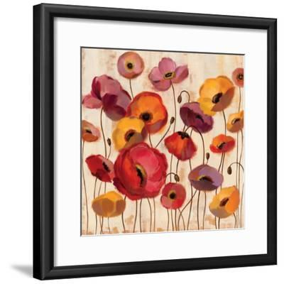 Sunrise Anemones-Silvia Vassileva-Framed Premium Giclee Print