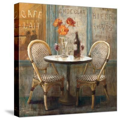Meet Me at Le Cafe I-Danhui Nai-Stretched Canvas Print