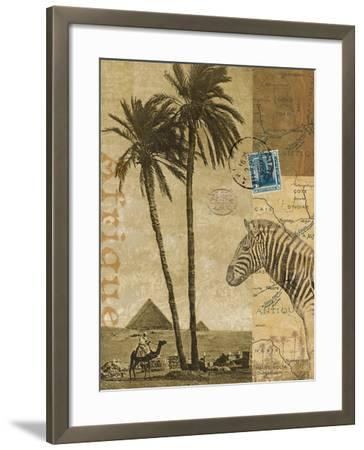 Voyage to Africa-Hugo Wild-Framed Art Print