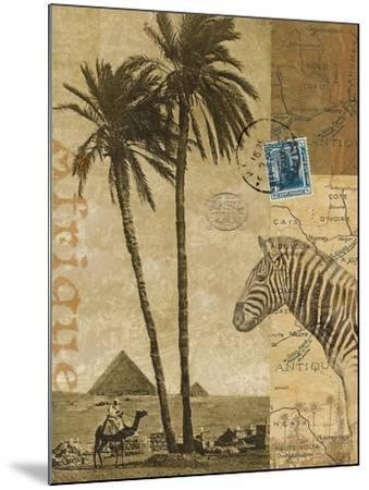 Voyage to Africa-Hugo Wild-Mounted Art Print