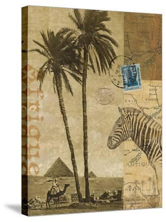 Voyage to Africa-Hugo Wild-Stretched Canvas Print