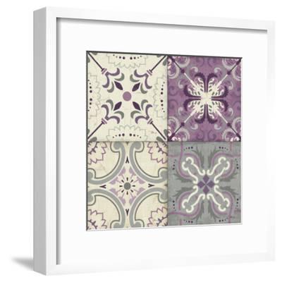Lavender Glow Tiles Special-Jess Aiken-Framed Art Print