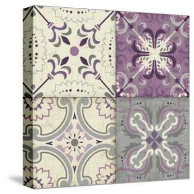 Lavender Glow Tiles Special-Jess Aiken-Stretched Canvas Print