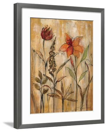 Aquarelle Garden II-Silvia Vassileva-Framed Premium Giclee Print