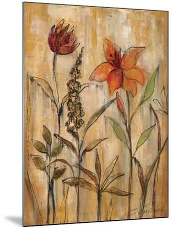 Aquarelle Garden II-Silvia Vassileva-Mounted Premium Giclee Print