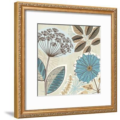 Funky Flowers IV-Pela Design-Framed Art Print