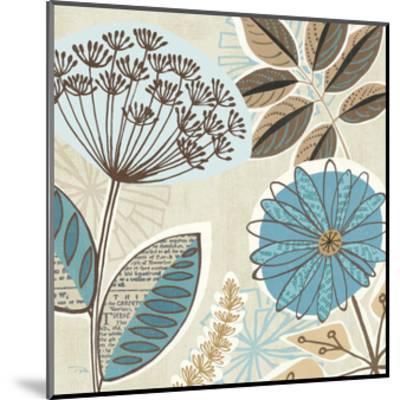 Funky Flowers IV-Pela Design-Mounted Art Print