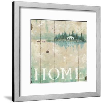 Waterside Lodge I-Daphne Brissonnet-Framed Premium Giclee Print