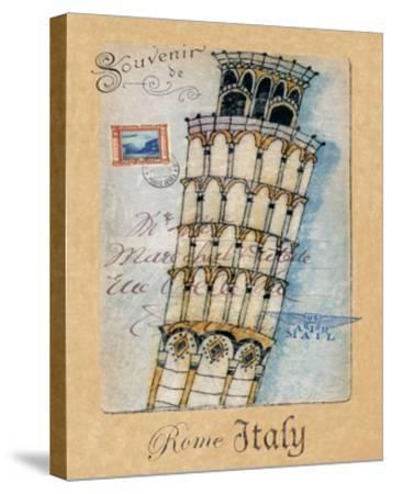 Souvenir of Rome-Hugo Wild-Stretched Canvas Print