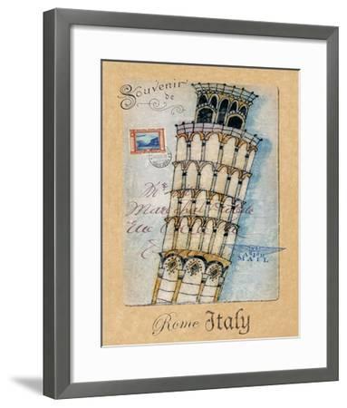 Souvenir of Rome-Hugo Wild-Framed Art Print