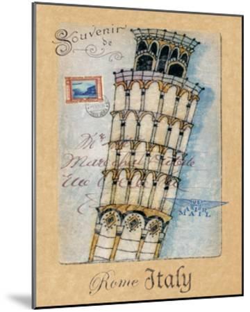 Souvenir of Rome-Hugo Wild-Mounted Art Print