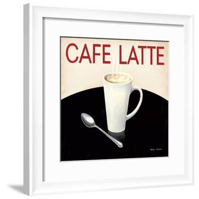 Cafe Moderne I-Marco Fabiano-Framed Art Print
