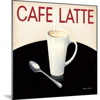 Cafe Moderne I-Marco Fabiano-Mounted Art Print